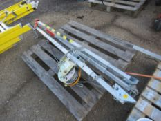 MANHOLE RECOVERY TRIPOD WITH WINCH, UNTESTED. SOURCED FROM LOCAL DEPOT CLEARANCE DUE TO A CHANGE IN