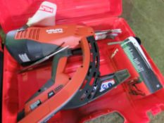HILTI NAIL GUN IN CASE. SOURCED FROM DEPOT CLEARANCE DUE TO A CHANGE IN COMPANY POLICY.