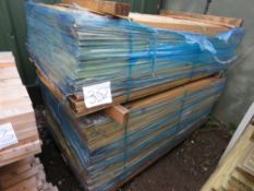 STACK OF 2 X BUNDLES OF BOARDS 1.75M LENGTH APPROX.
