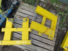 2 X FORKLIFT MOUNTING FRAMES SUITIBLE FOR SNOW PLOUGH ETC.