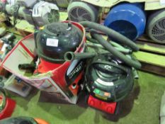 2 X HENRY VACUUM CLEANERS. SOURCED FROM DEPOT CLEARANCE DUE TO A CHANGE IN COMPANY POLICY.