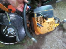 PARTNER PETROL SAW WITH BLADE.
