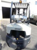 Crown Forklift truck - 2018 model C-5 1050-60 LPG