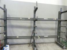 Cantilever stock racks