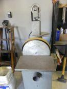 Kalamazoo combination belt/disc sander