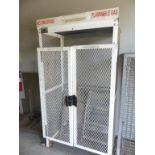 Awisco 2 door flammable gas cylinder storage cage