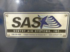 Sentry Air Systems Fume extractor - portable