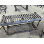 """Roller conveyor, 15_ wide x 60"""" long with base"""""""