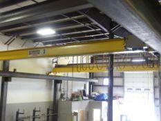Bridge Crane System - 2 cranes w/ steel support