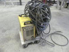 ESAB Plasma cutter w/ cart, model PCM-875