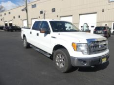 2013 Ford Pick-up truck, 4 door crew cab