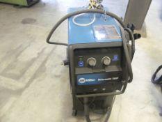 Miller Millermatic 350P Mig welder, w/ cart