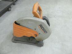 Ridgid CM14500 abrasive cut-off saw