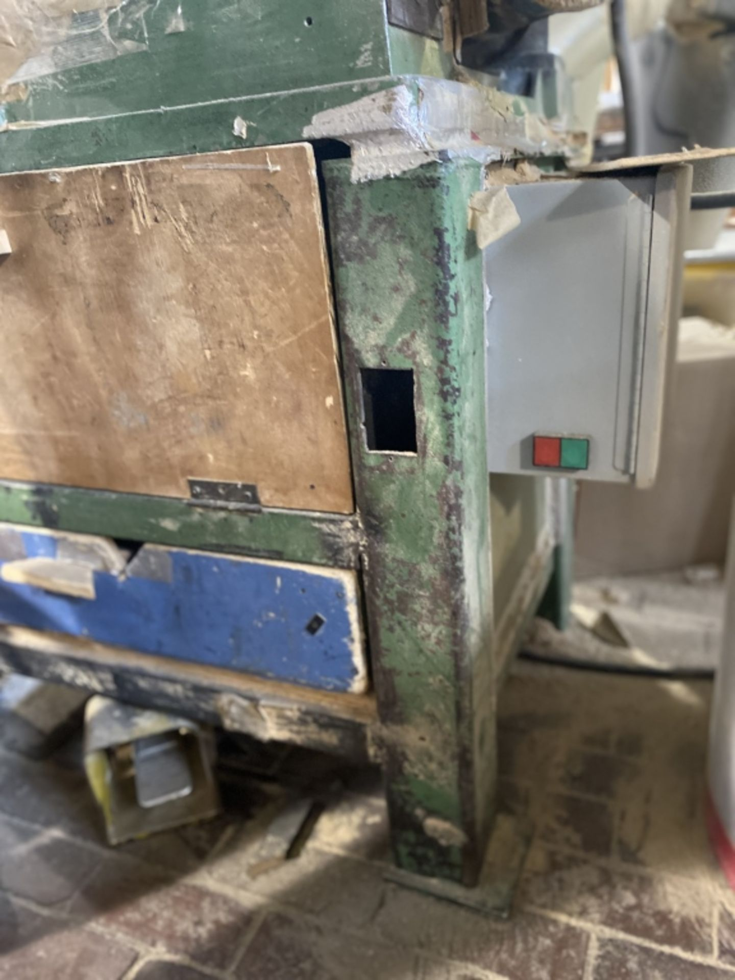 Lot 1014a - Sampson Double Mitre Saws