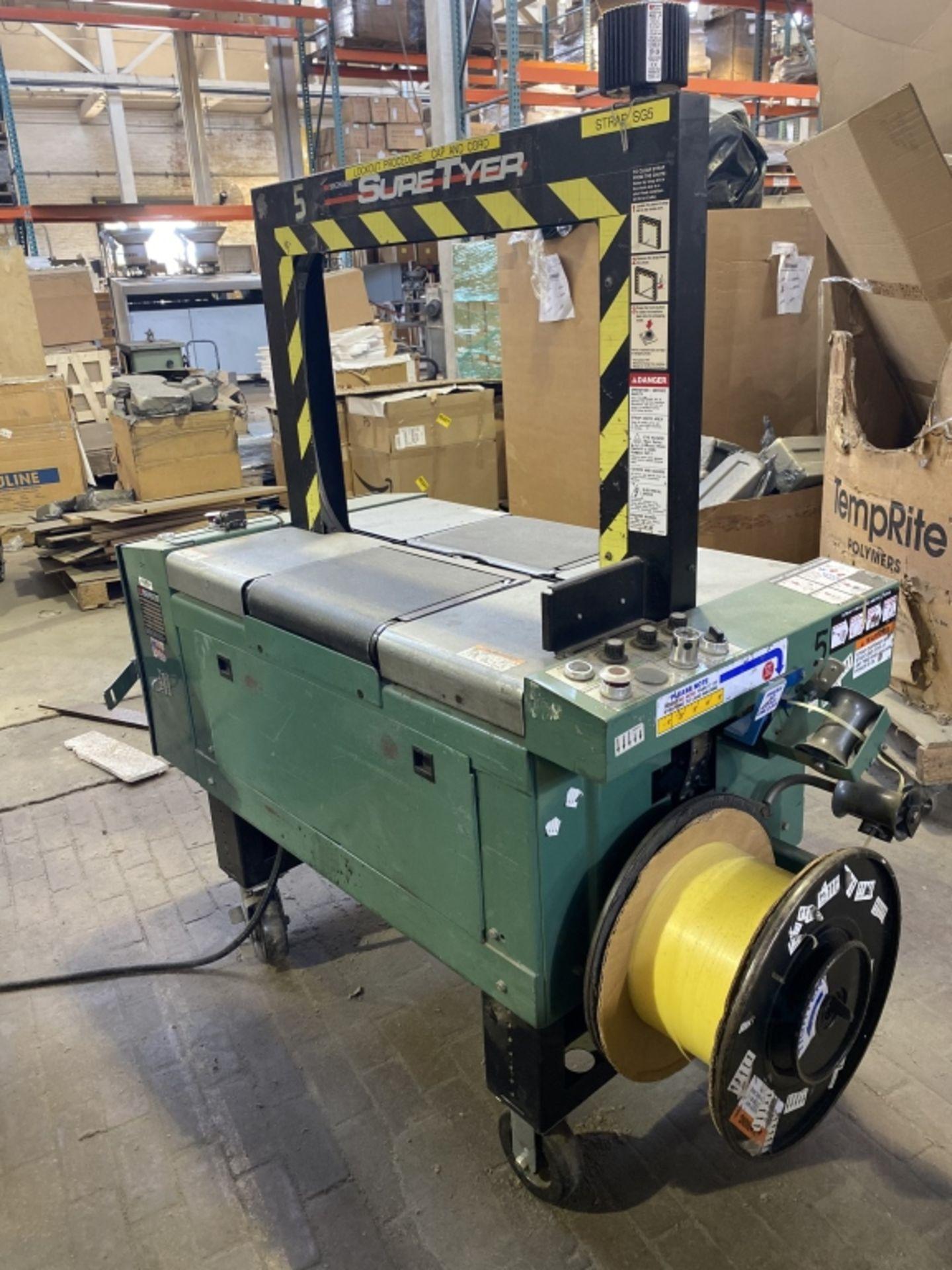 Lot 1034 - Signode Banding Machine Model Sure Tyer