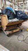 Rolling Tilting 2 1/2 Yard Dumpster