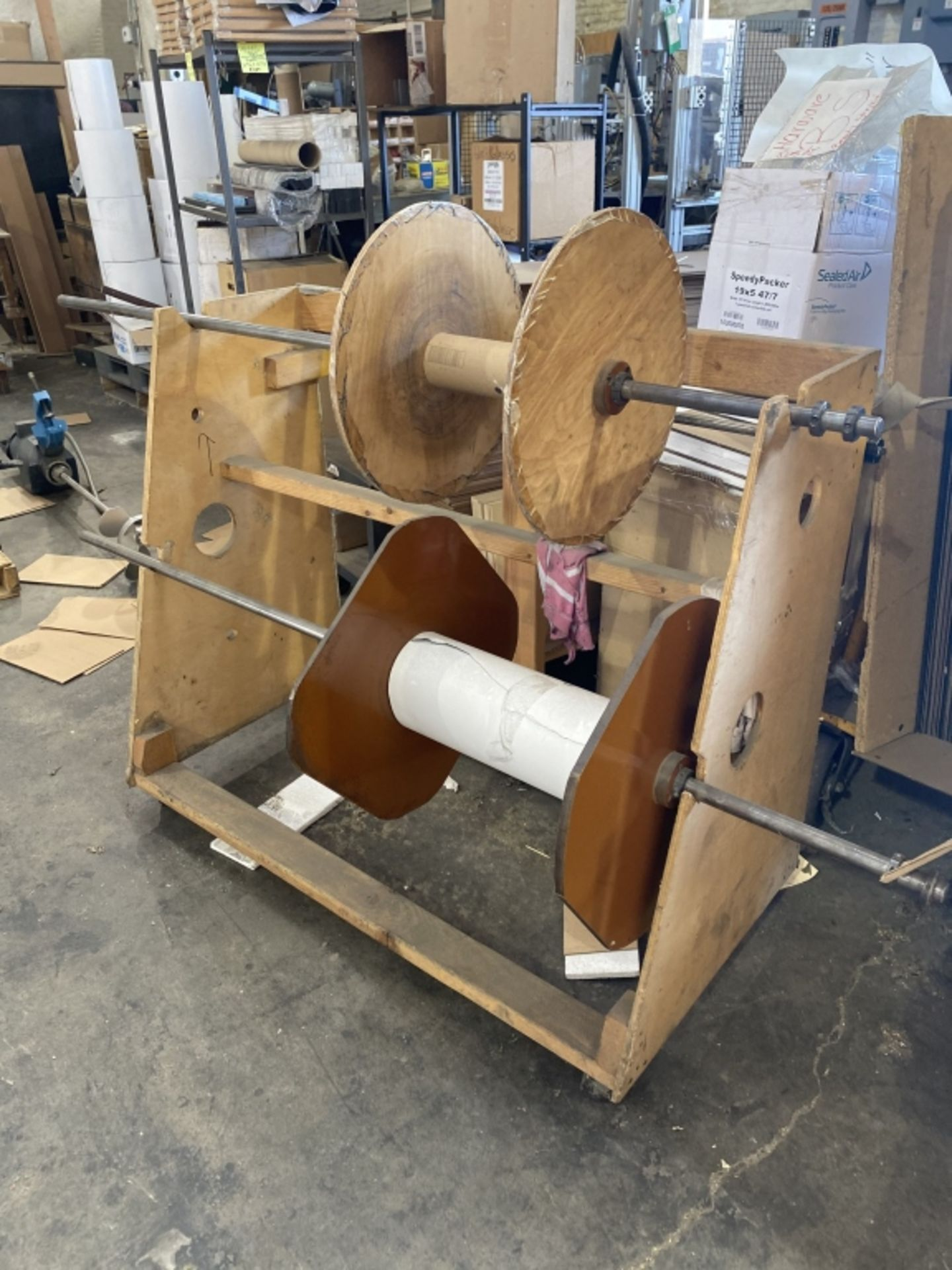 Lot 1021 - Rolling Panel Carts