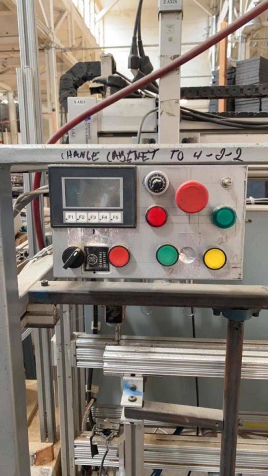 Lot 1046 - Custom Machine#6: Hinge-Hole Drill Machine