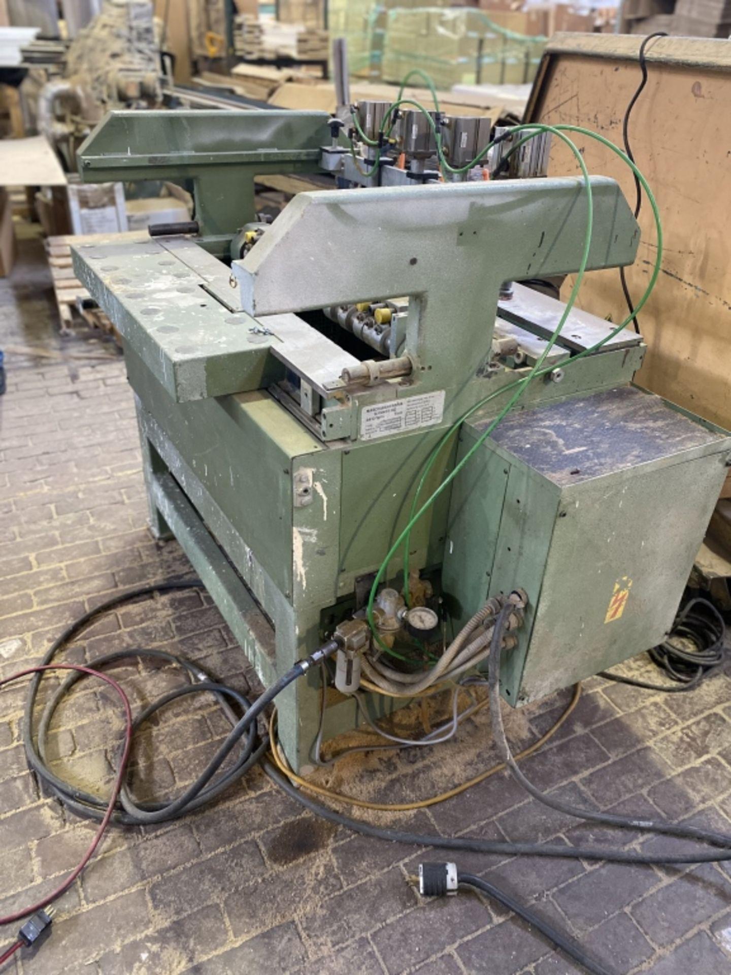 Lot 1036 - 1985 Gannomat 32mm Line Drilling Machine