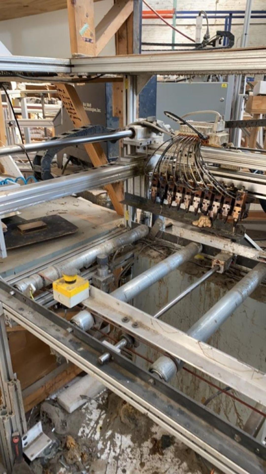 Lot 1045b - Custom Machine #5b: Hot Melt Machine w/ Multi-Head