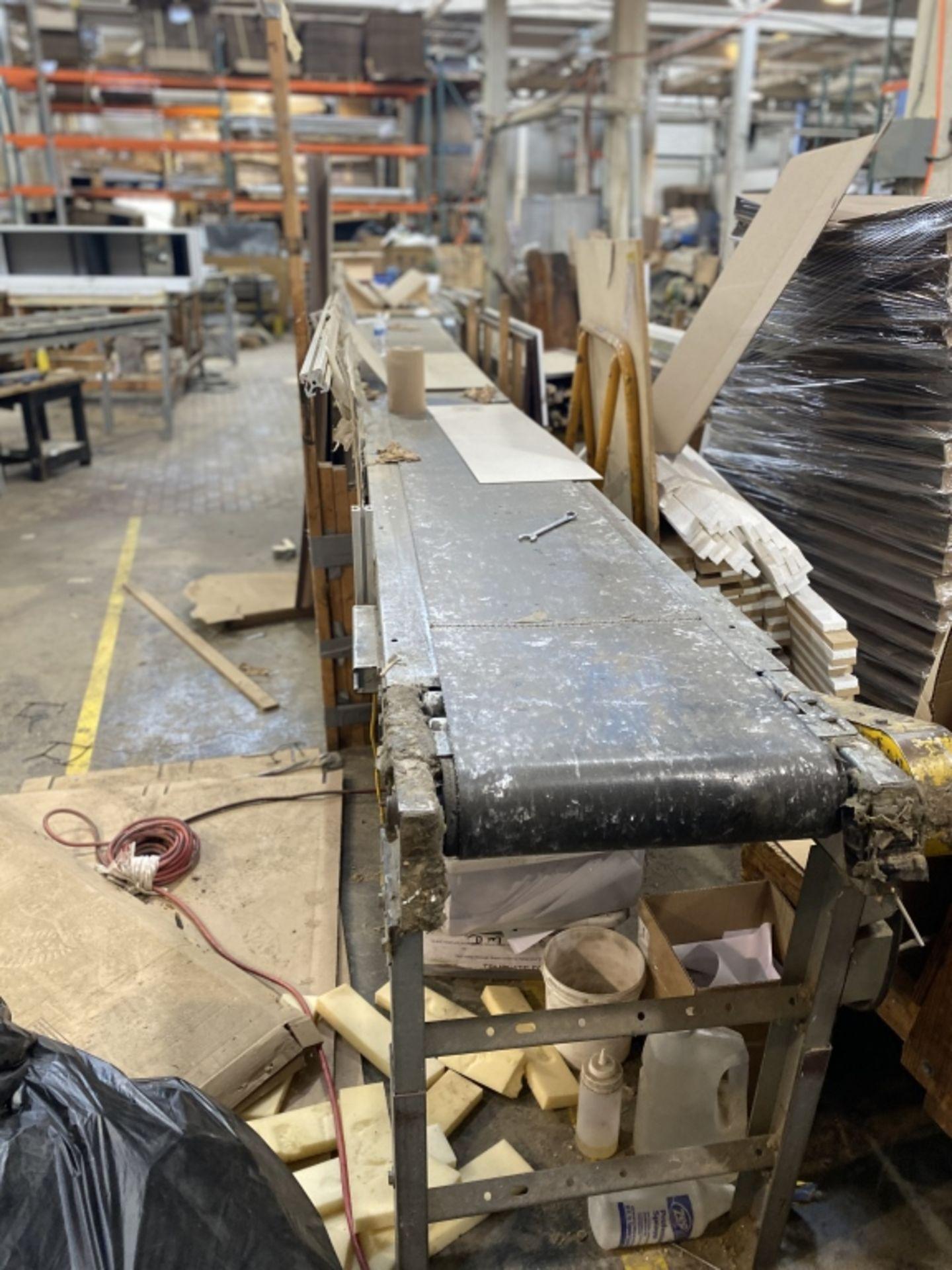 Lot 1039 - Conveyor 20' x 32' belt