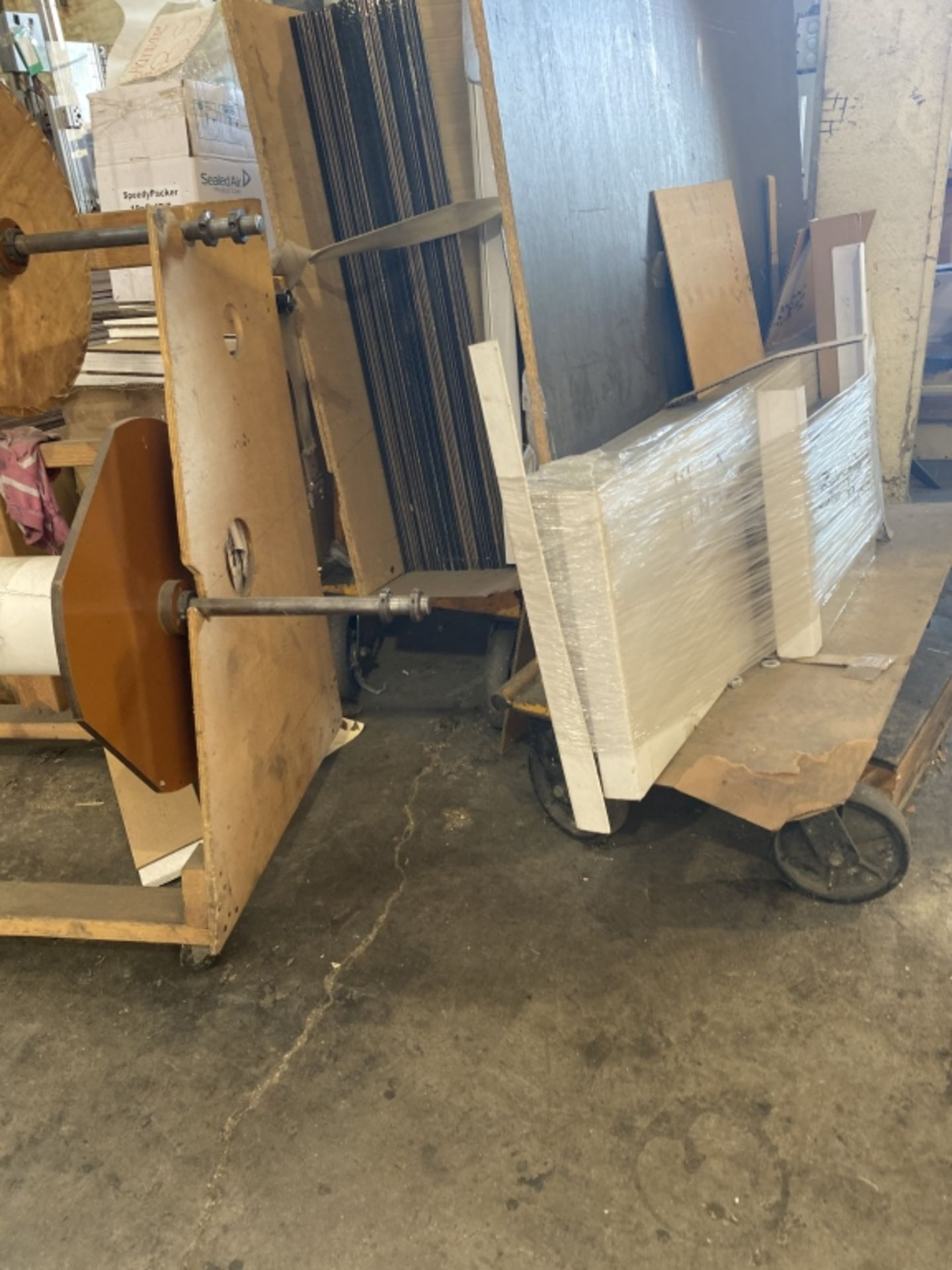 Rolling Panel Carts - Image 4 of 5