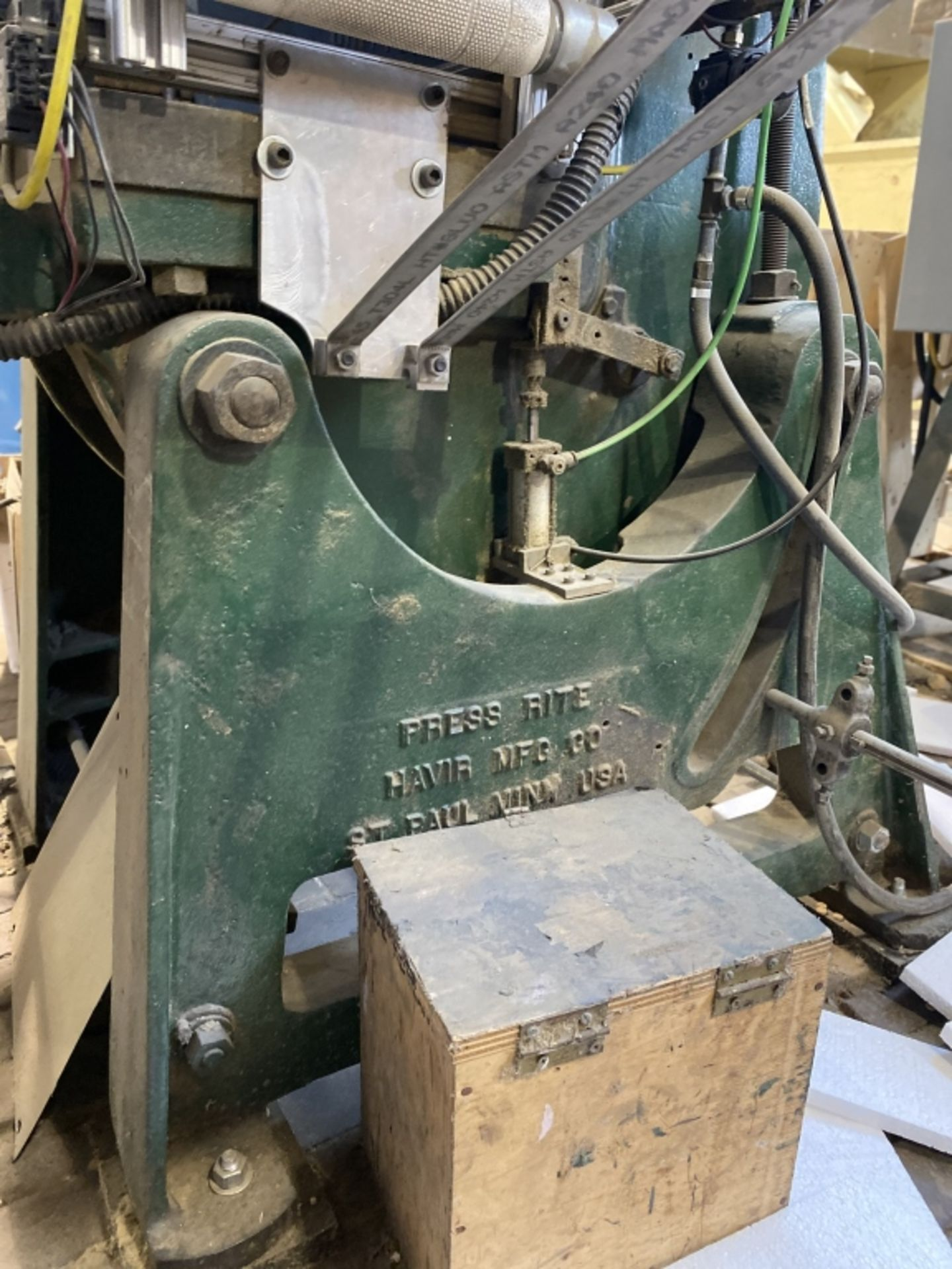 Lot 1028 - Press-Rite Mechanical Punch Presses