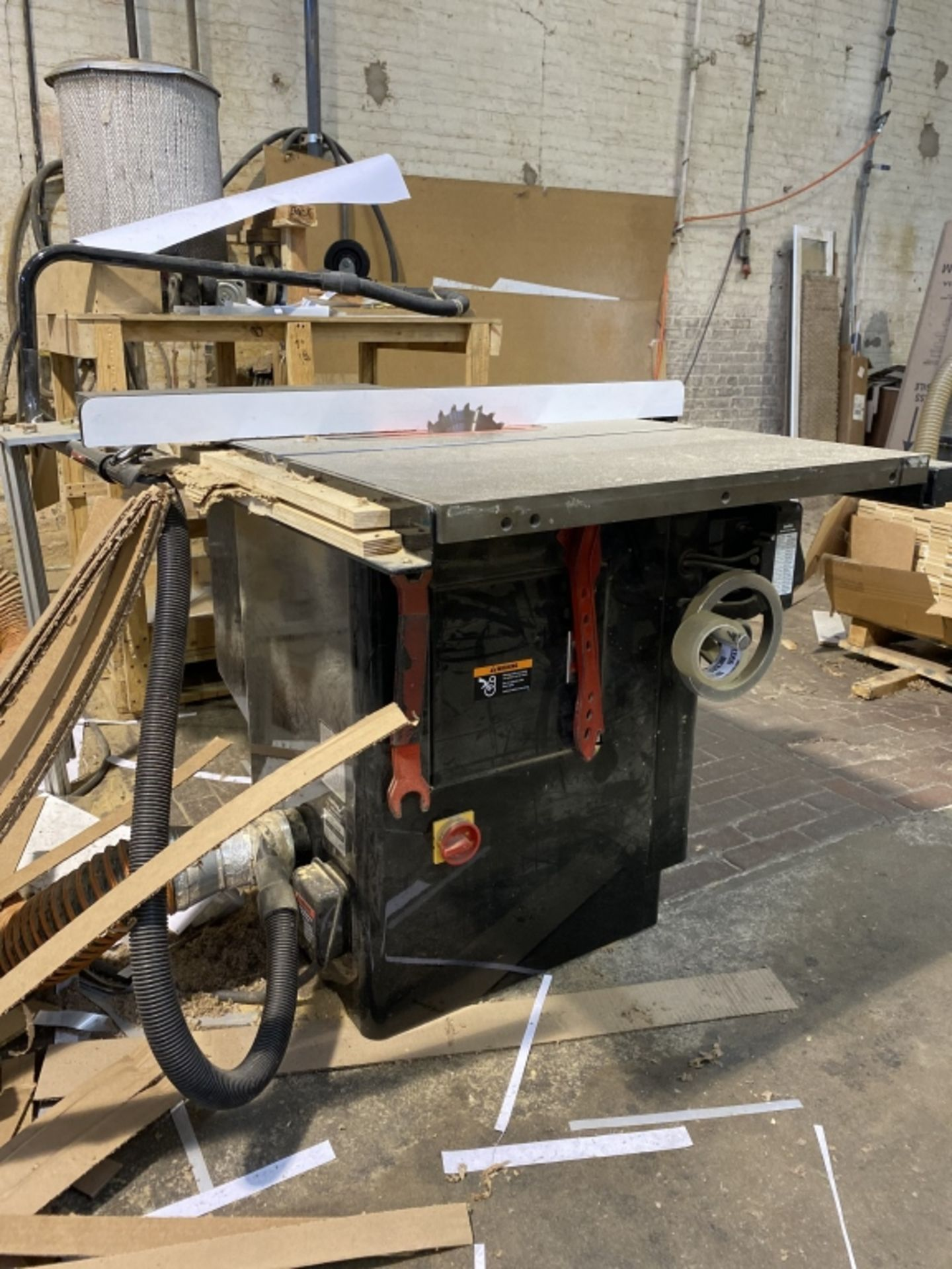 Lot 1015 - Saw Stop Table Saw with Fence