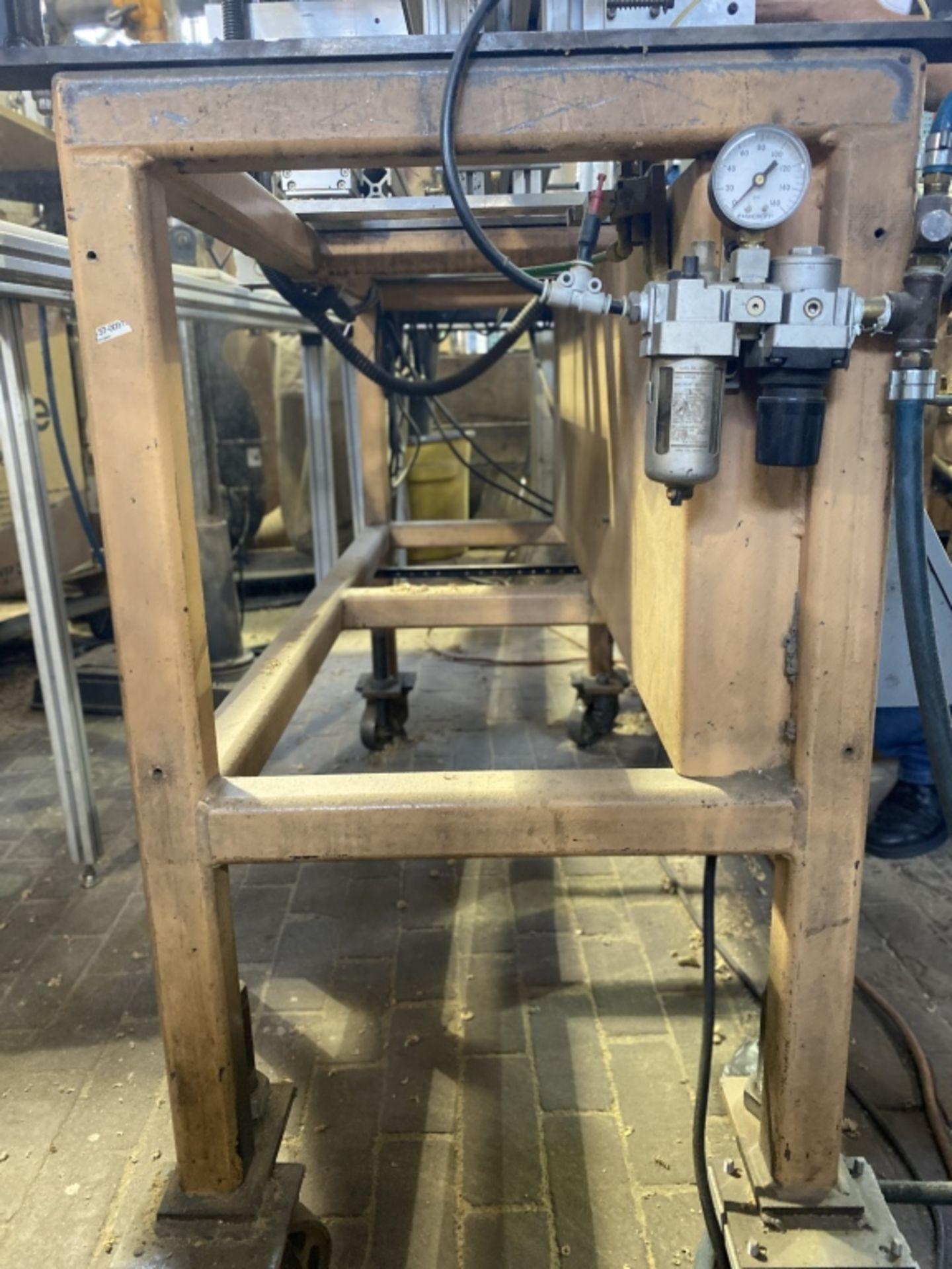 Lot 1049 - Custom Machine#8: Jumbo Armoire Multi-Head Drill