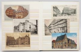 48 Ansichtskarten / Postkarten von Halberstadt