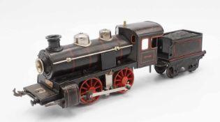 Bing Elektrische Dampflok 0-35, Spur 0, um 1930