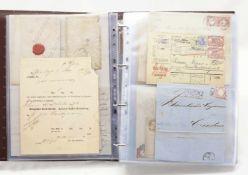 Großes Konvolut Ganzsachen, Briefe und Karten ab 1850