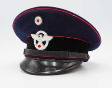 Schirmmütze für Mannschaften der Feuerlöschpolizei / Feuerwehr