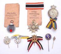 Konvolut Orden und Abzeichen, 1914 bis 1945