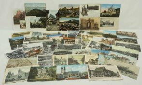 54 Historische Postkarten Harz
