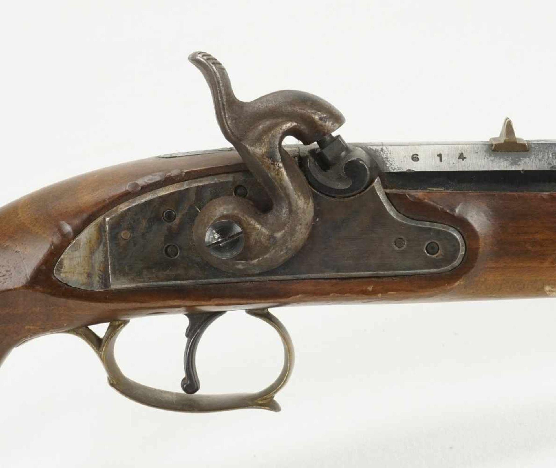 Perkussionspistole Kentucky, 2. Hälfte 20. Jh. - Bild 4 aus 5