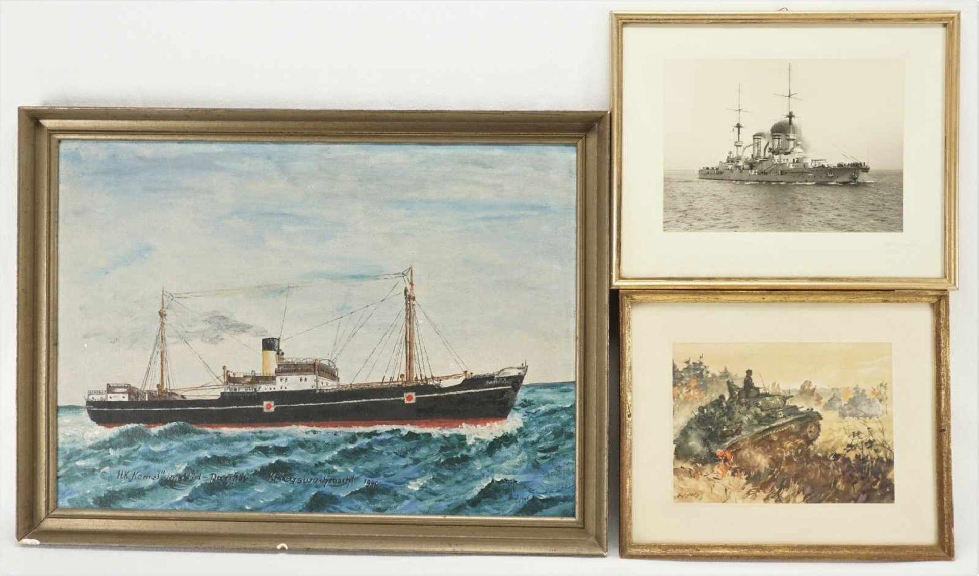 Drei Bilder II. Weltkrieg