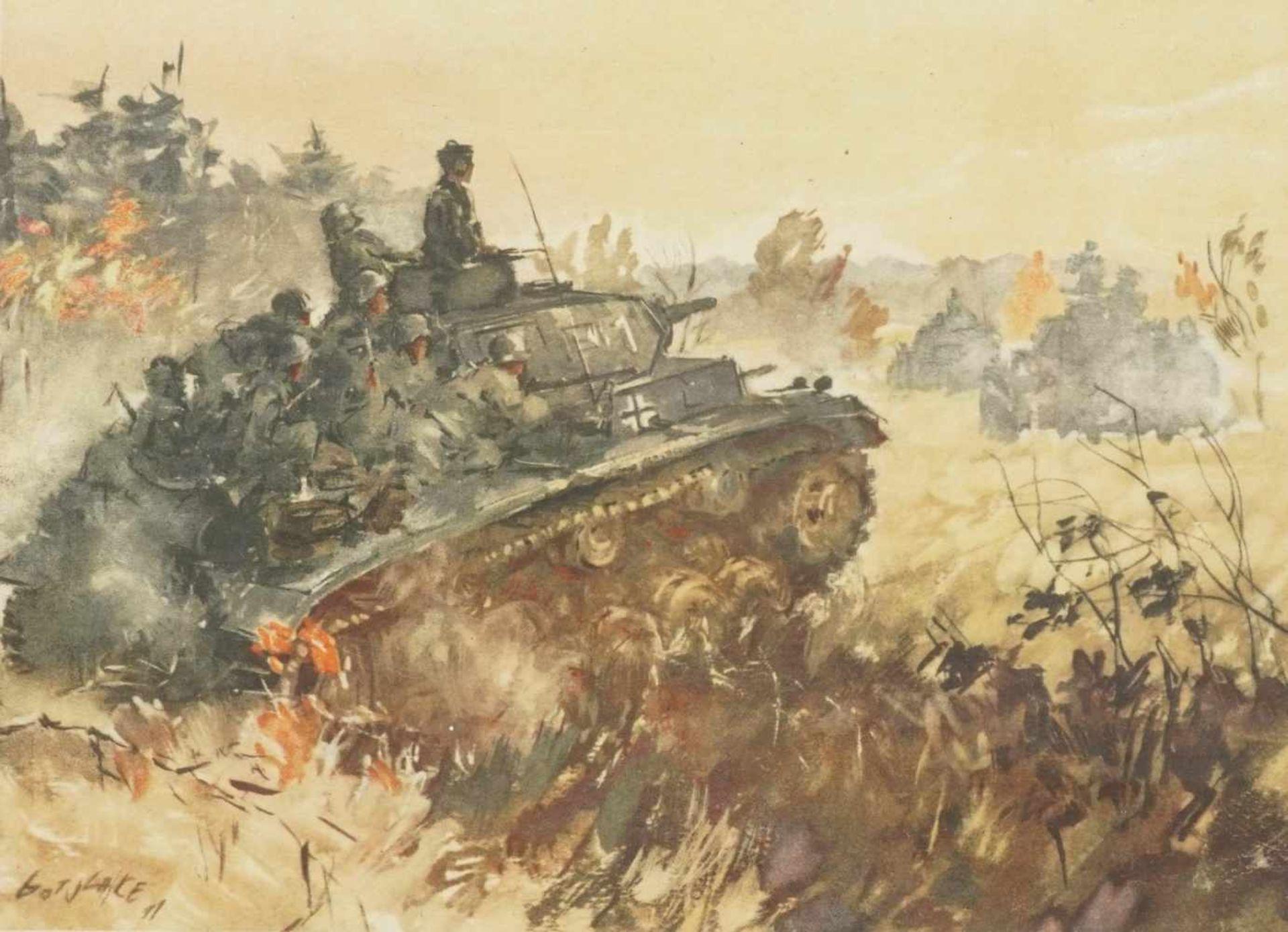 Drei Bilder II. Weltkrieg - Bild 4 aus 4