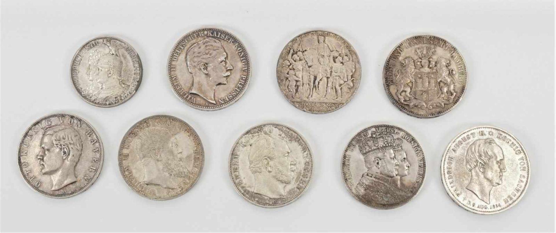 22 Münzen 1854-1936, davon 19 Silbermünzen - Bild 3 aus 7