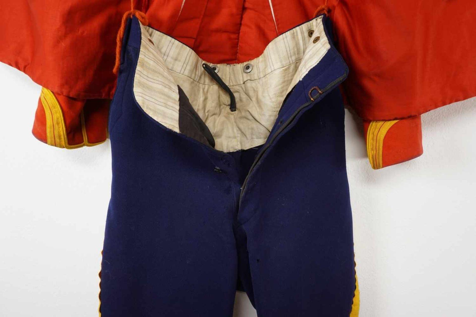 Uniform des Leib-Garde-Husaren-Regiments Potsdam, um 1900 - Bild 8 aus 9