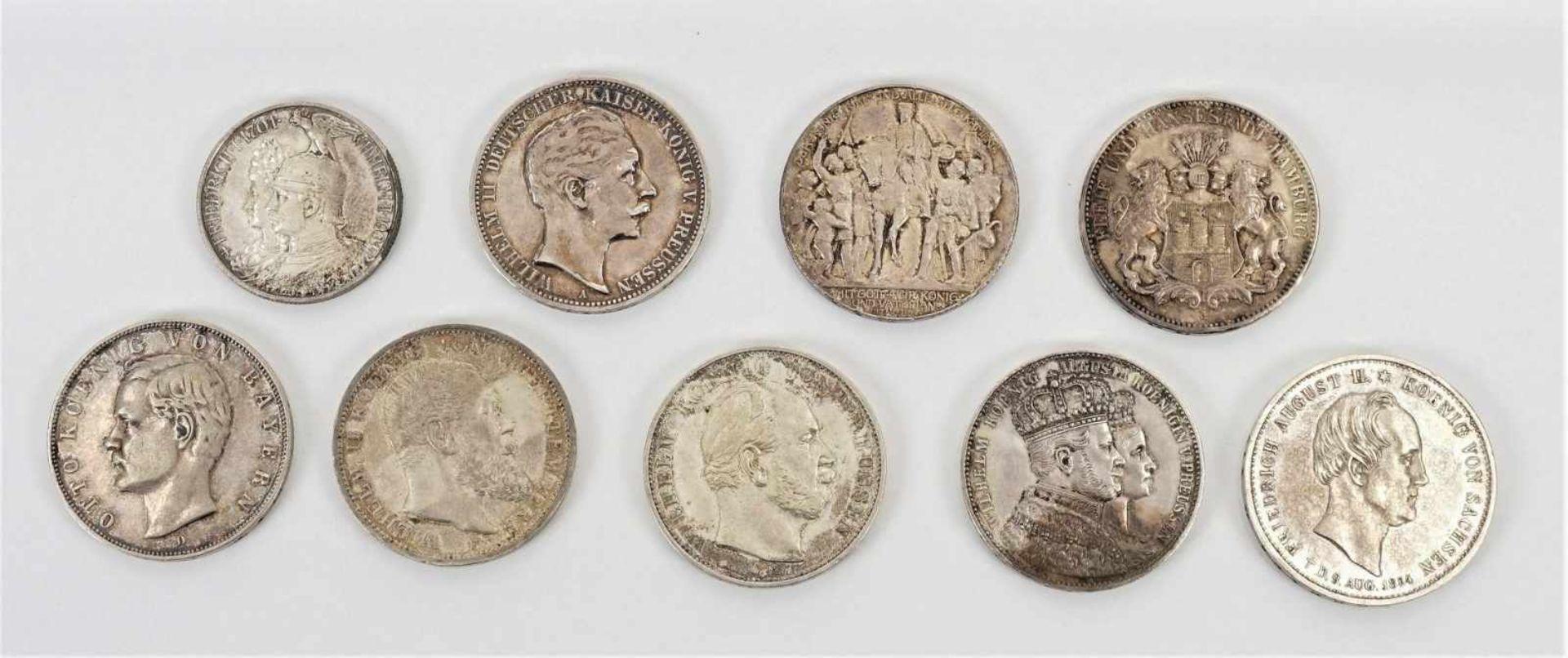 22 Münzen 1854-1936, davon 19 Silbermünzen - Bild 5 aus 7