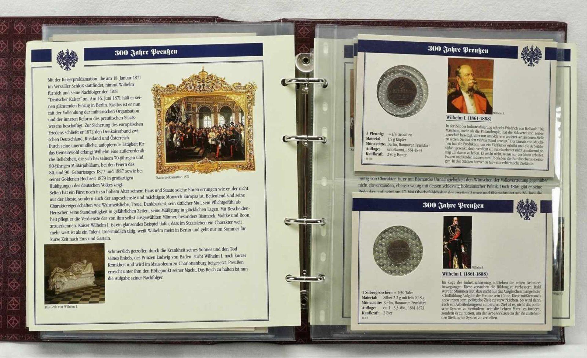 """Album """"300 Jahre Preußen"""" mit 32 Münzen - Bild 2 aus 6"""