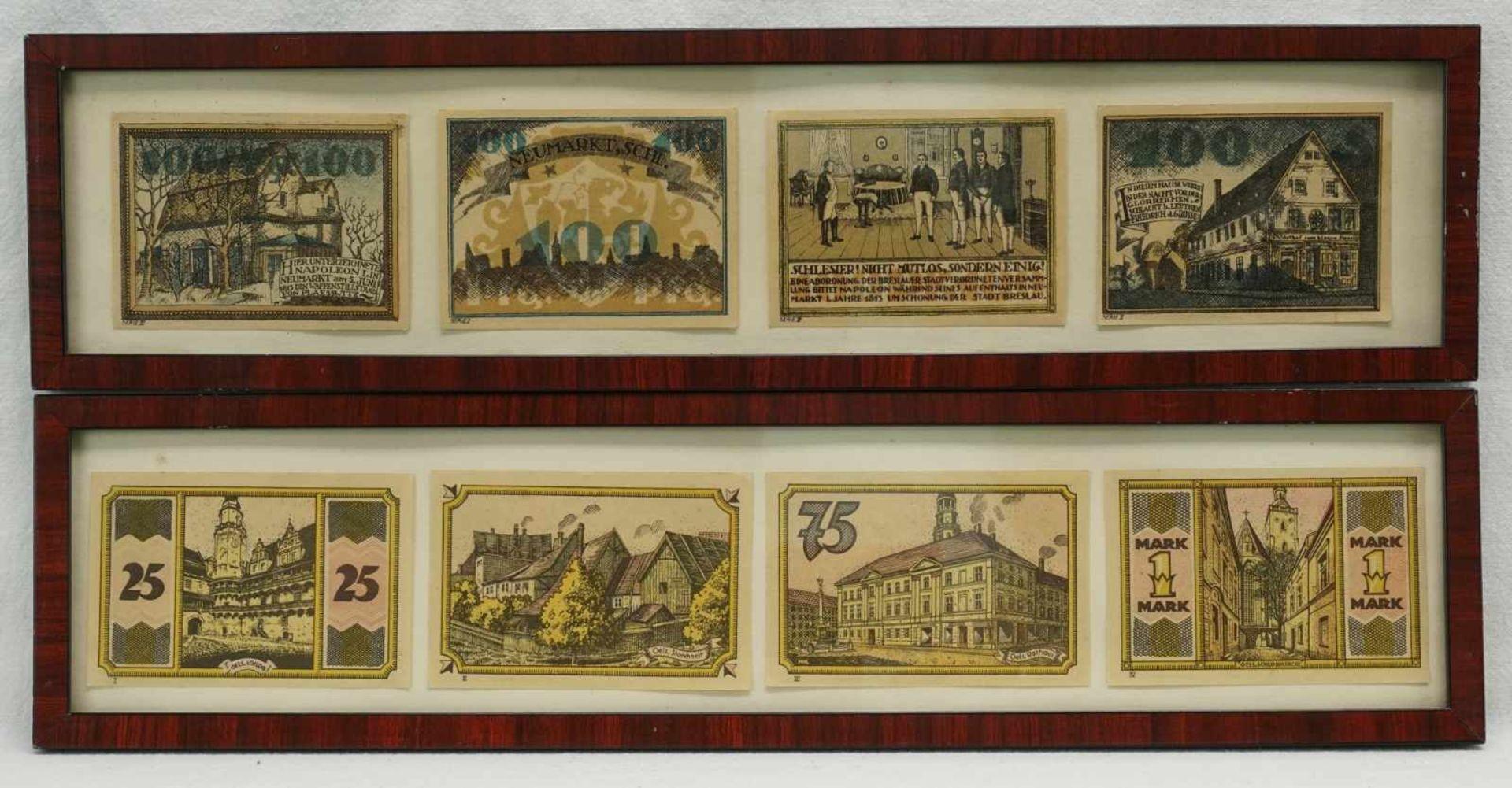 17 Notgeldscheine, Bielefeld und verschiedene Orte Schlesiens - Bild 4 aus 5