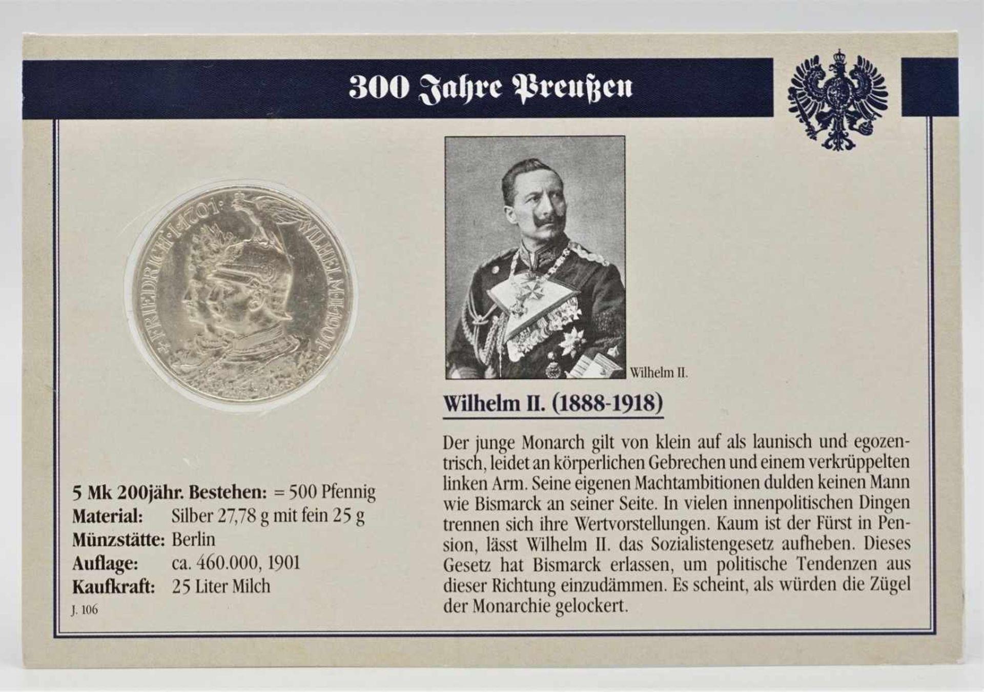 """Album """"300 Jahre Preußen"""" mit 32 Münzen - Bild 4 aus 6"""