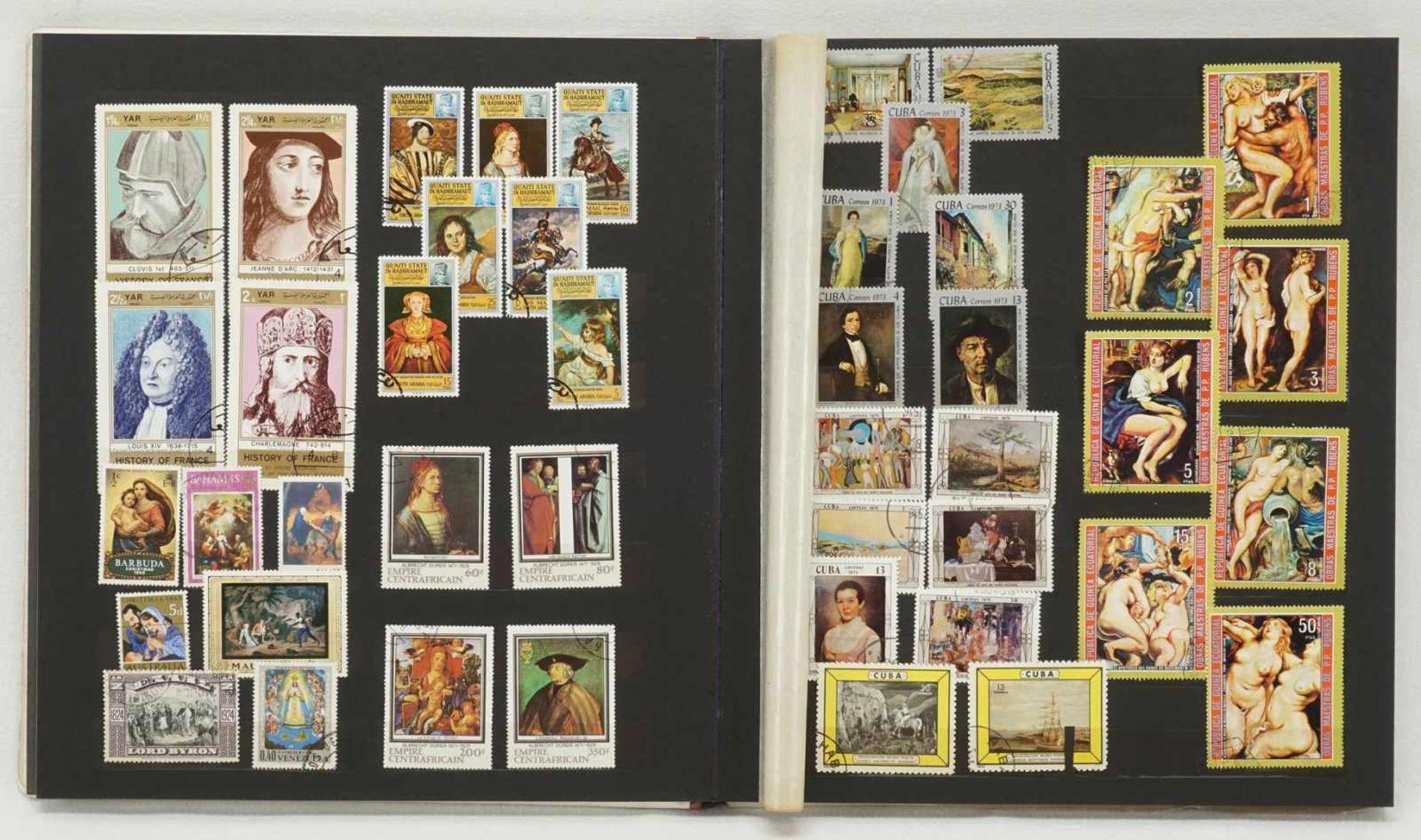 Ca. 3150 Briefmarken und Blocks aus aller Welt - Bild 4 aus 4
