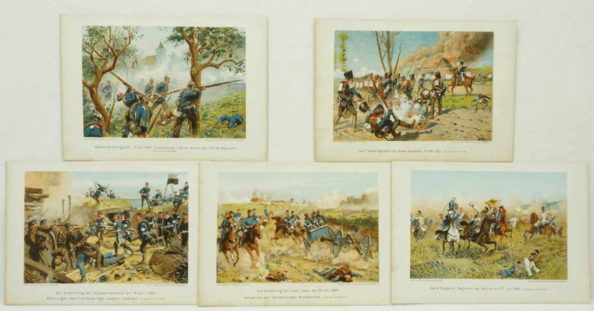 40 militärhistorische Kunstblätter - Bild 2 aus 3