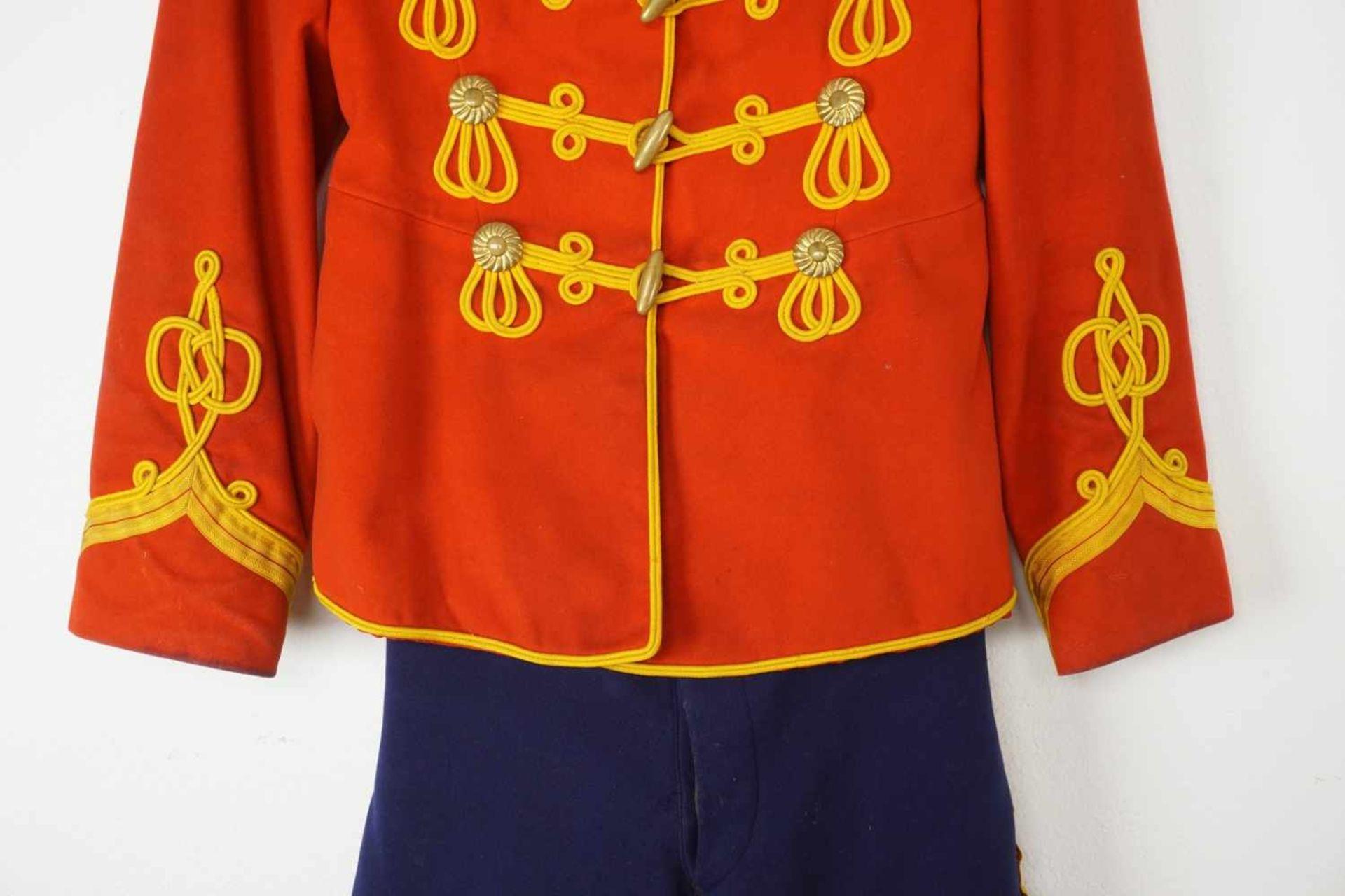 Uniform des Leib-Garde-Husaren-Regiments Potsdam, um 1900 - Bild 7 aus 9