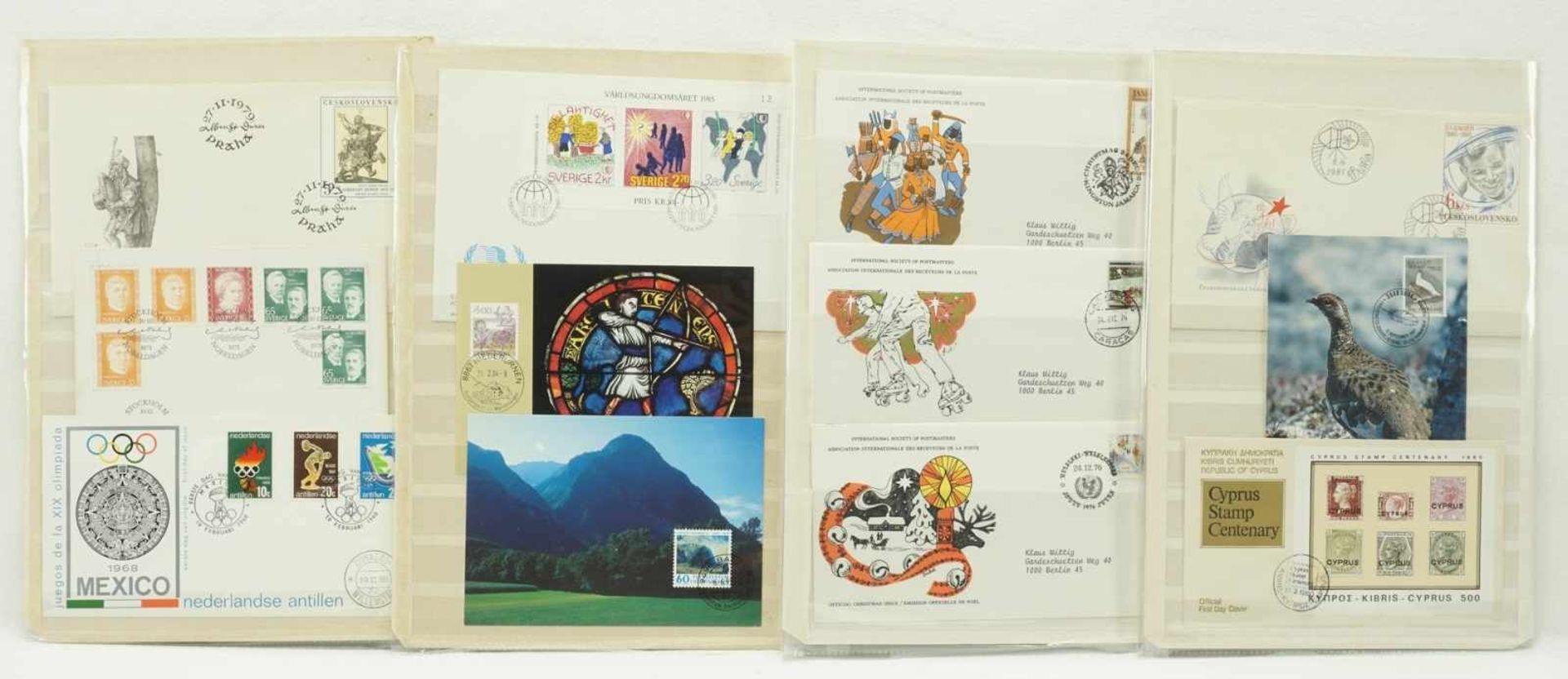 108 Ersttagsbriefe (FDCs) - Bild 2 aus 3