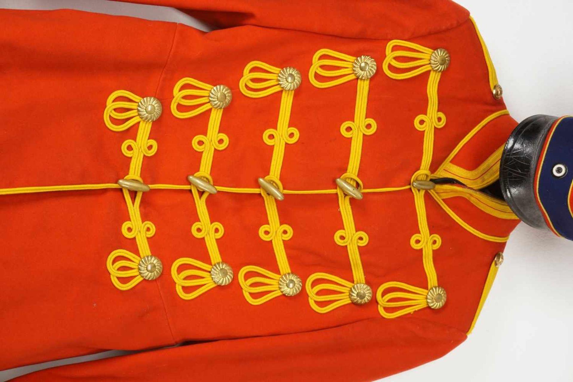 Uniform des Leib-Garde-Husaren-Regiments Potsdam, um 1900 - Bild 6 aus 9