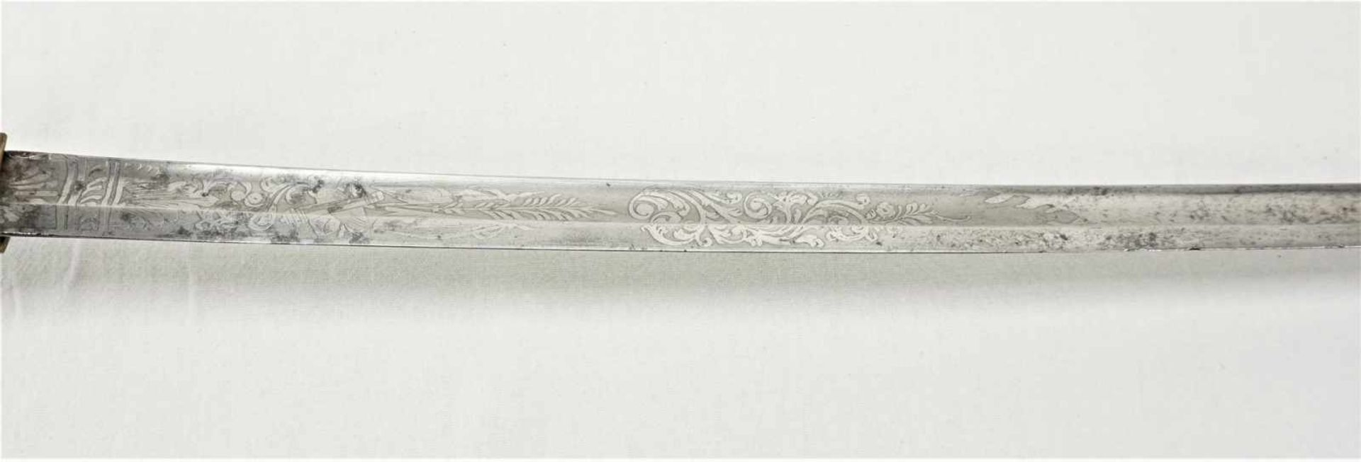 Löwenkopfsäbel um 1870 und Infanterie Säbel um 1800 - Bild 4 aus 8